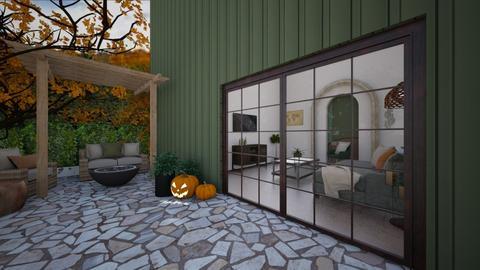 September patio - Garden  - by Linzee_el529