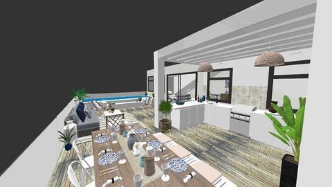 rooftop terrace split - Garden  - by Charipis home