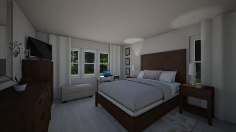 MstrBR Cole Forest - Modern - Bedroom  - by Daisy de Arias