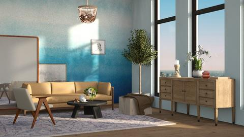 blue - Classic - Living room  - by tolo13lolo