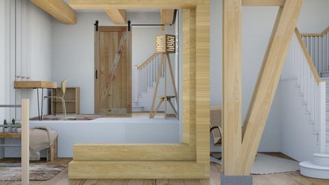 Impressive stair case - Modern - by matildabeast