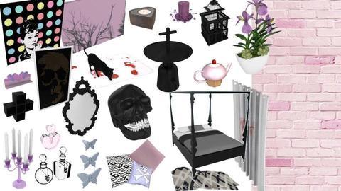 Pastel Goth Mood - by mmt_regina_nox
