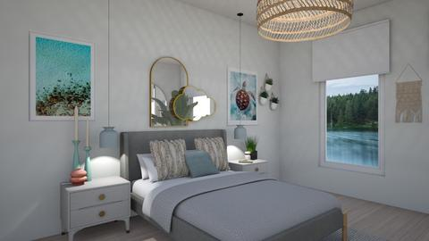 Coastal Teens x2 - Minimal - Bedroom  - by SunflowerStudios