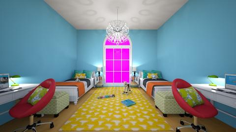 Kid bedroom - by MadieWilliams