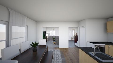 Kenmore Downstairs - Living room  - by Taryn Derner