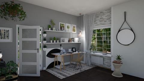 Urban Jungle Office - by ellta