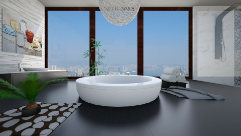 Luxury bathroom - Modern - Bathroom - by bgref