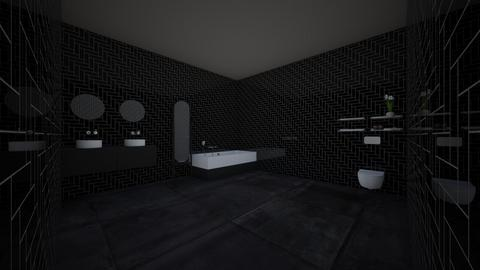 space edge bathroom - Eclectic - Bathroom  - by bumbleB33