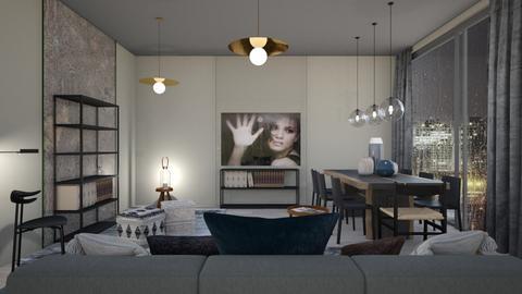 Rain - Living room  - by chania