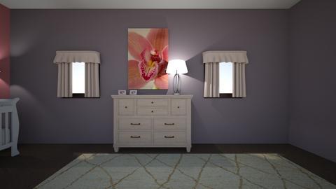baby twin - Feminine - Kids room  - by Riylie duckett