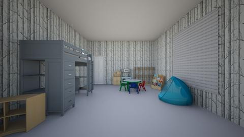 little kids room - Bedroom - by hannelise