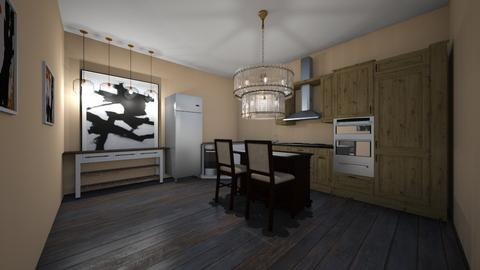 kitchen project - Kitchen - by gabagail45