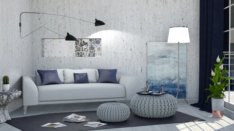 M_MGB - Modern - Living room  - by milyca8
