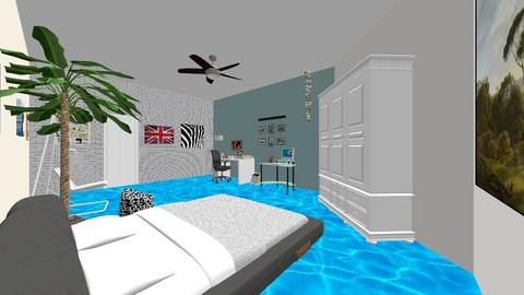 Beachy Room - Bedroom  - by park7