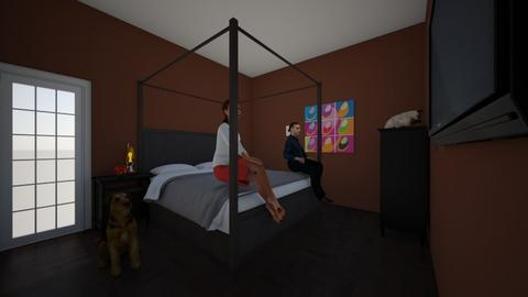 master bedroom - Classic - Bedroom  - by thinymonkey6