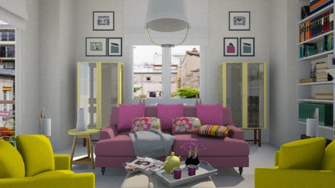 colorful living room - Living room  - by annasig