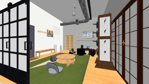 denjis room - Modern - Bedroom  - by nemohunter