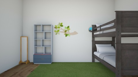 first kids room - Modern - Kids room  - by zhc856