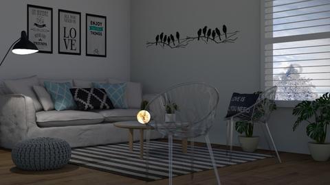 2 - Living room  - by Anet Aneta Kucharova