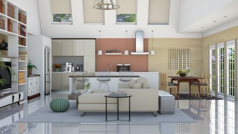 Living - Kitchen  - by ayudewi