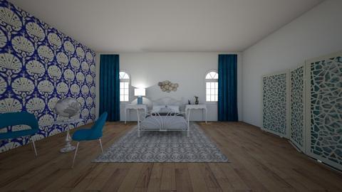 art nouveau room - Bedroom  - by hh104