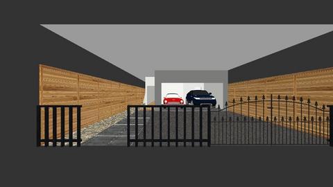 1st level - Modern - Living room  - by danny_design