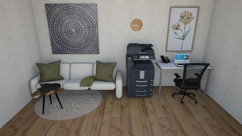 Simple living rrom - Modern - Living room  - by dewintersam