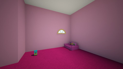 sally loves fun - Glamour - Kids room  - by Anastasia Colyer