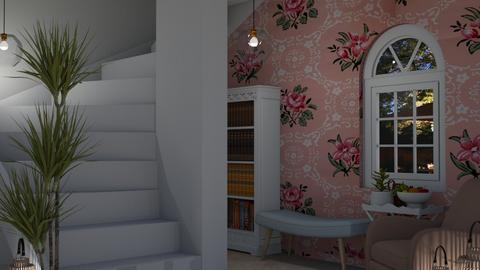 Shabby Chic Hallway - Living room  - by MeSisilia