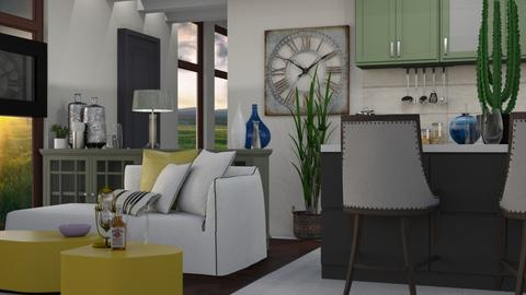 Combo - Modern - Kitchen  - by Gurns