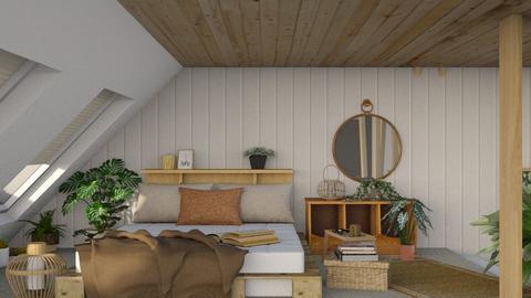 Attick Bedroom  - Bedroom  - by i l o n a