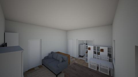 Dahlerupsgade - Living room  - by hvidberg