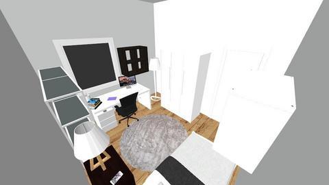 Habitacion  - Modern - Bedroom  - by Kiuby