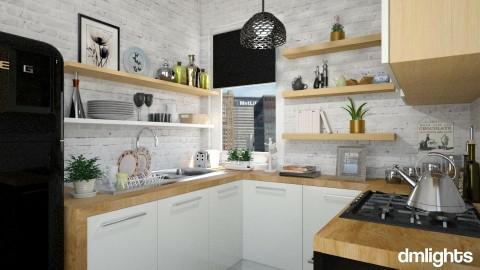 SMALL KITCHEN - Kitchen  - by rrogers47