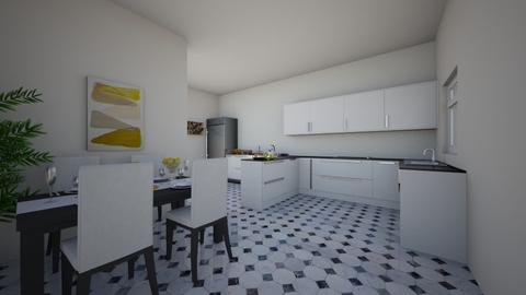 Kitchen 1 - by Claudia Silaghi