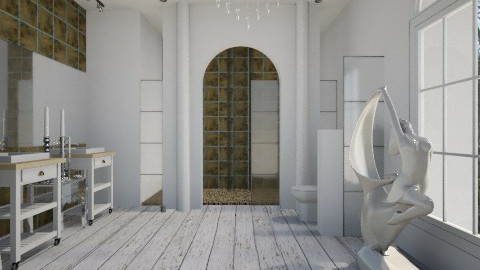 LUX - Rustic - Bathroom  - by wagner herbst padilha