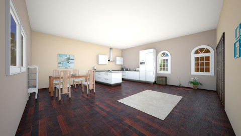 Kitchen - Rustic - Kitchen  - by brookiebrooke37