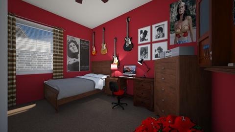 Teenage Bedroom 2 - Bedroom  - by SammyJPili