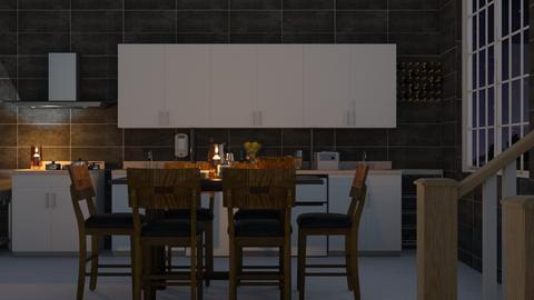 KITCHEN - Kitchen  - by Malshi