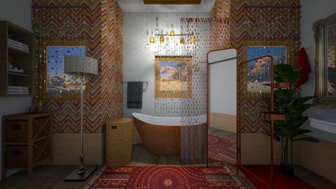 bohoe4 - Bathroom - by catcarla