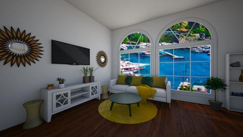Pineapple inspired room - Living room  - by HebaAhmed