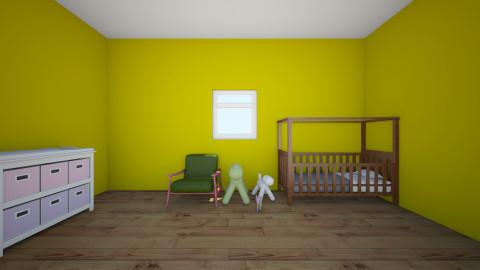 Her nursery - Modern - Kids room  - by Abigail Carter