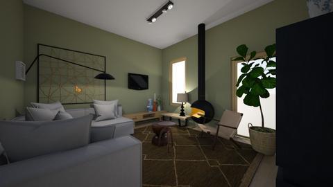 Yessss - Living room  - by sannewiekamp
