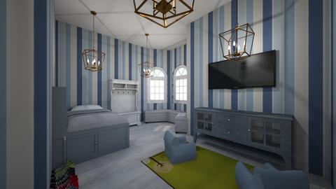Braykes room  - Modern - Kids room  - by DelilahRose04