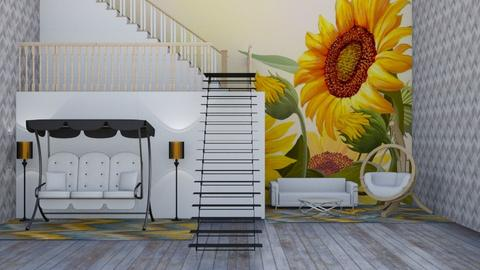 sunflower loft - Living room  - by Jahsoftball_