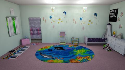 Pre K Girl Riley - Bedroom  - by KarJef