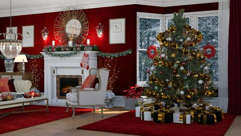 Merry Christmas - Eclectic - Living room  - by Claudia Correia