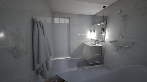 bathroom 4b - Glamour - Bathroom  - by Sachinnin