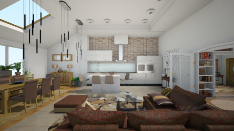 Villa01 - Classic - Living room  - by Ida Dzanovic