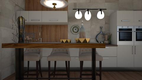 Kit - Modern - Kitchen - by XiraFizade